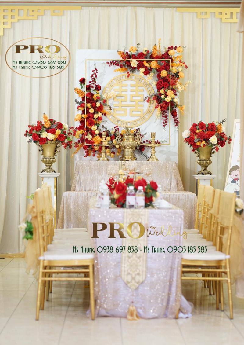 PRO Wedding - Trang Trí Nhà Ngày Cưới, Đám Hỏi