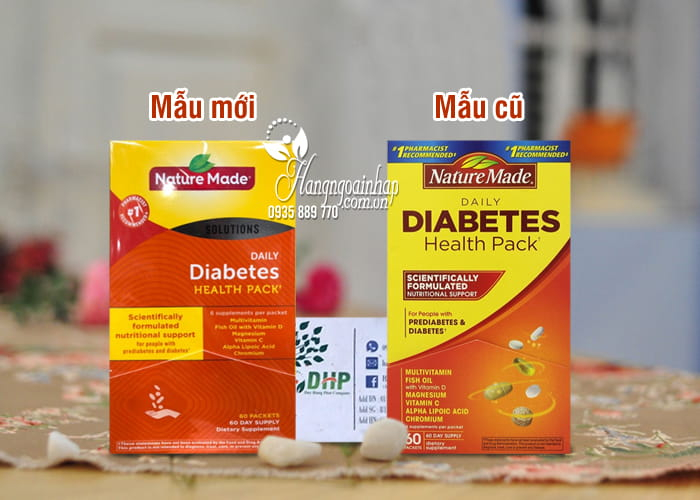 Nature Made Daily Diabetes Health
