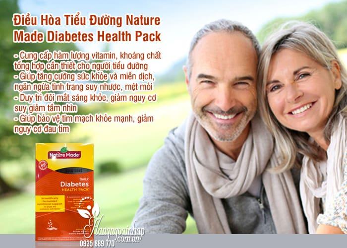 Công dụng của sản phẩm Nature Made Daily Diabetes Health