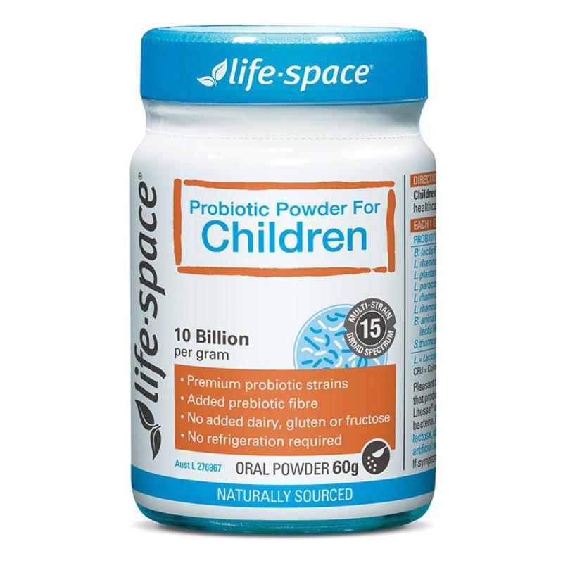 Probiotic Powder For Children 60g - Men vi sinh Úc cho trẻ trên 3 tuổ