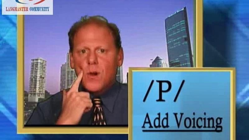Pronunciation Workshop dùng để khắc phục những âm còn thiếu