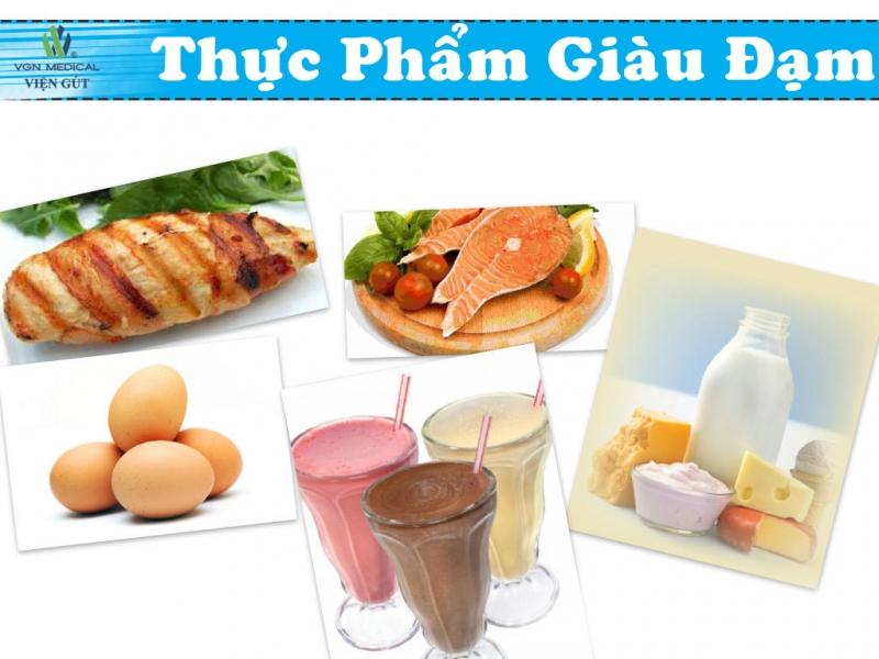 Protein là dưỡng chất thiết yếu đối với trẻ con