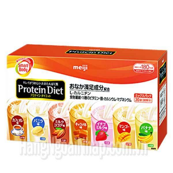 Bột Giảm Cân Meiji Protein Diet - Nhật Bản