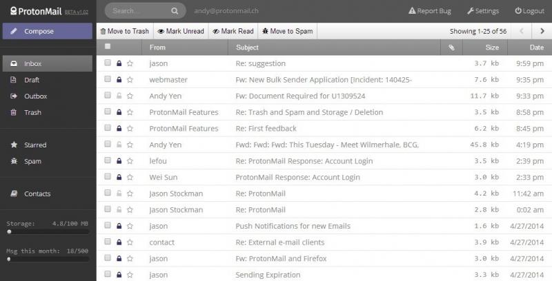 ProtonMail - một trong những dịch vụ email có độ bảo mật cao nhất thế giới