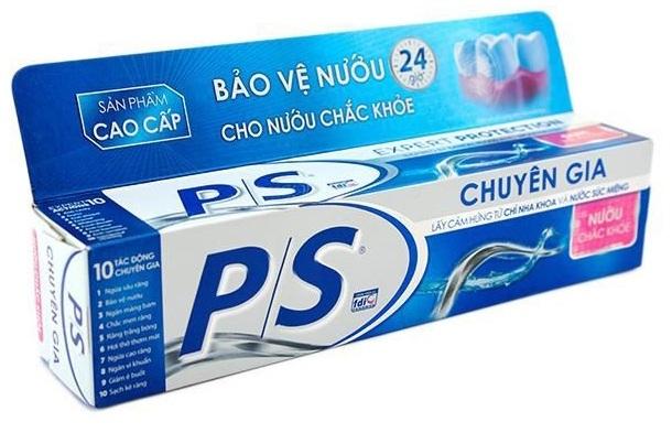 Đây sản phẩm kem đánh răng nổi tiếng và quen thuộc nhất tại Việt Nam.