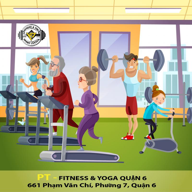 PT Fitness & Yoga Quận 6