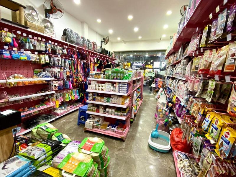 Top 10 Cửa hàng phụ kiện, thức ăn cho chó mèo quận Ba Đình, Hà Nội