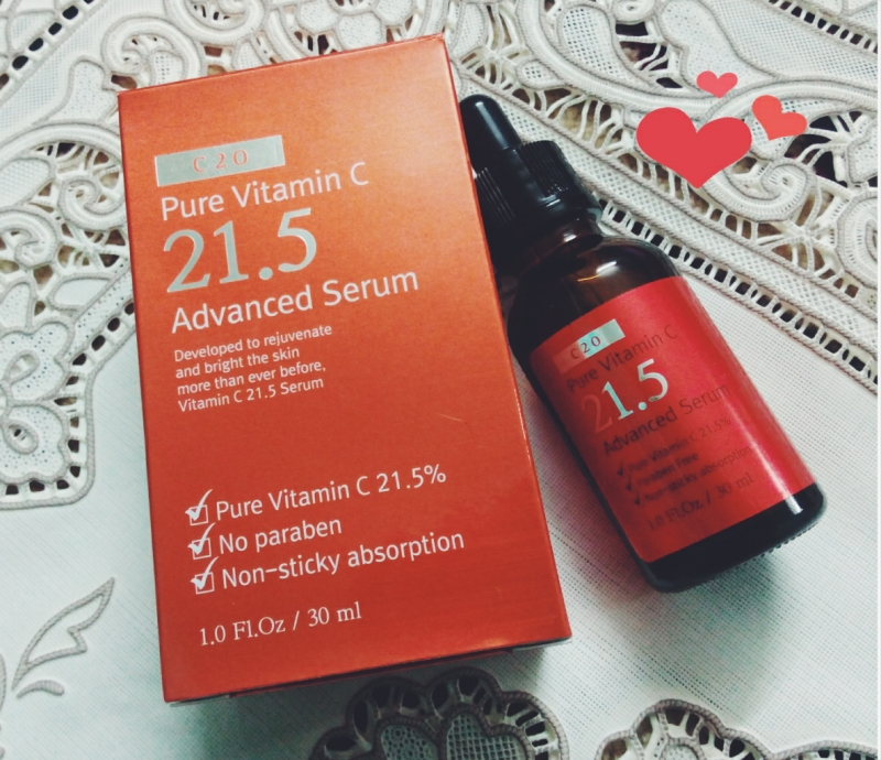Pure vitamin C21.5 Advanced Serum