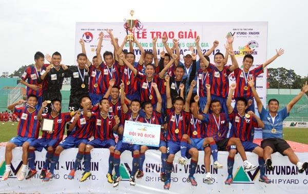 U15 giành chiến thắng trong giải U15 Quốc gia