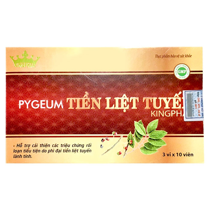 Pygeum Tiền Liệt Tuyến – Kingphar