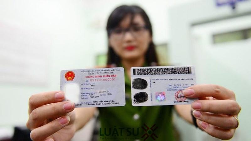 Hai mặt của thẻ căn cước công dân