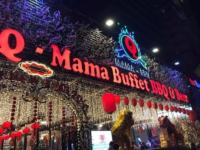 Q-Mama Buffet Beer BBQ