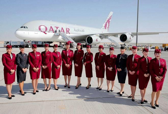 Tiếp viên Qatar Airways