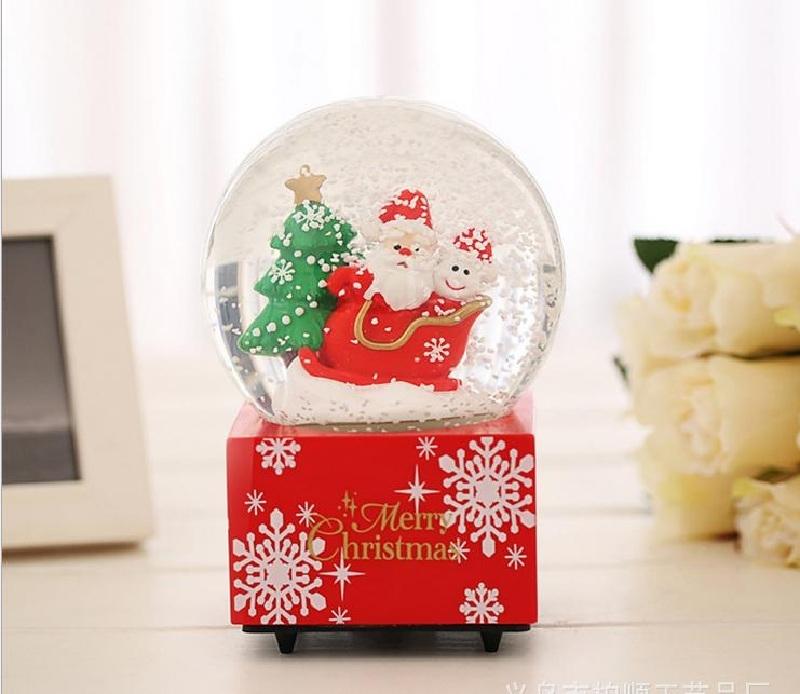Quả cầu tuyết ông già Noel