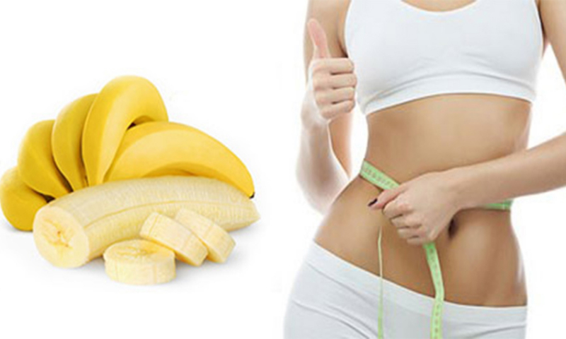 Chuối giúp giảm cân hiệu quả
