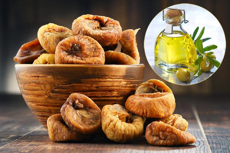 Bài thuốc chữa trào ngược dạ dày từ quả sung khô và dầu ô liu
