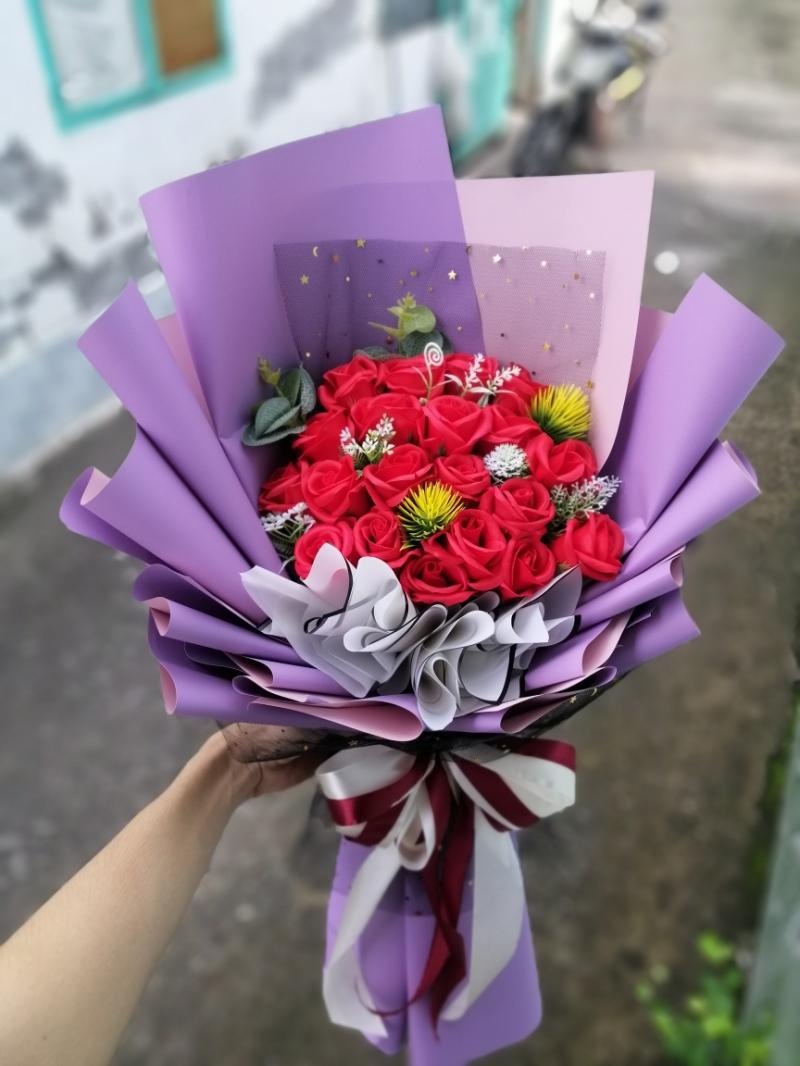 Quà tặng hoa sáp
