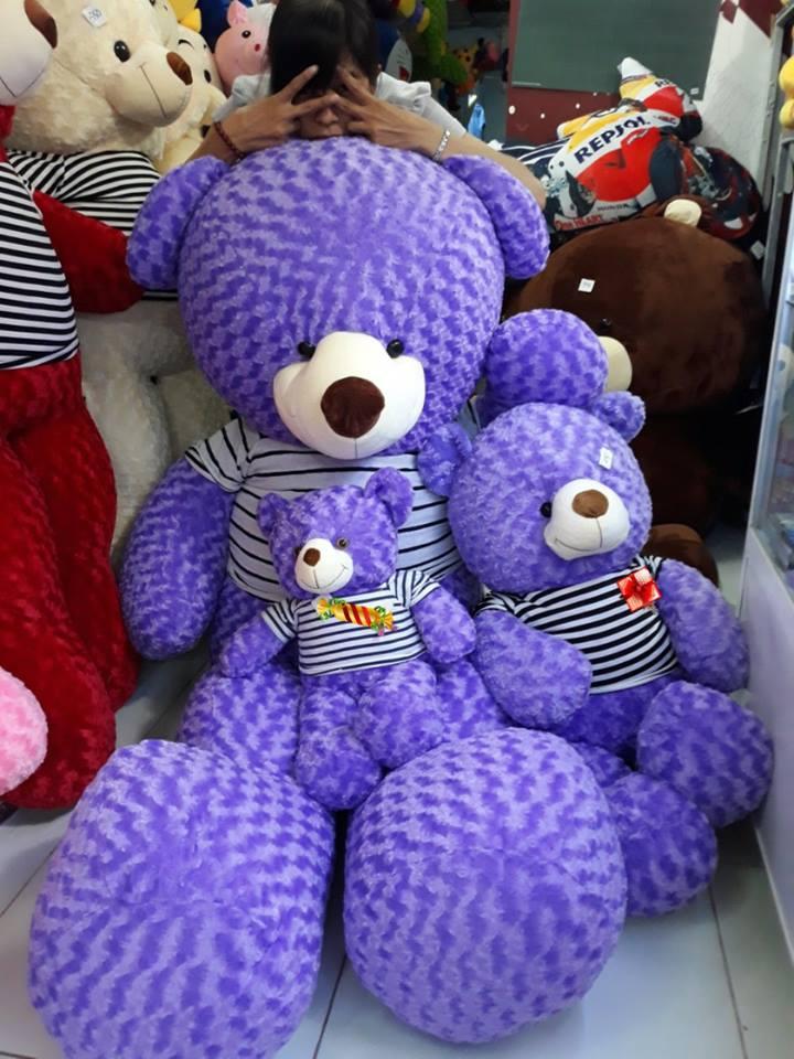 Sản phẩm gấu bông tại Quà Tặng Giá Rẻ Cần Thơ