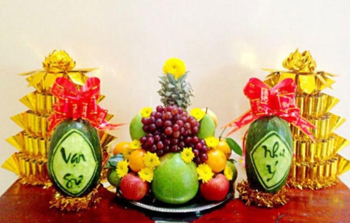 Top 12 loại quả hay được dùng trong mâm ngũ quả ngày Tết ở miền Bắc