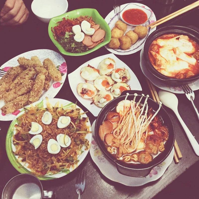 Một số món ăn tại Quán 2 Bà