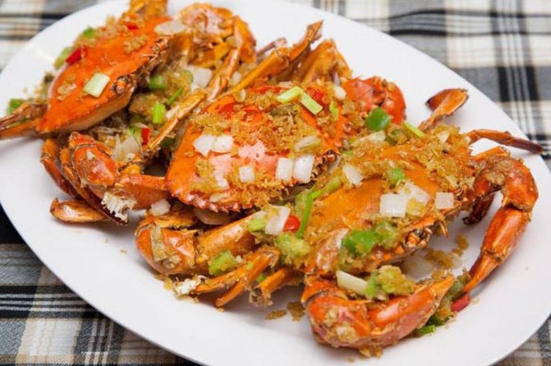 Cua được coi là món khoái khẩu của nhà hàng 257