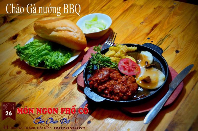 Quán 26 - Món ngon Phố Cổ - ẩm thực Việt