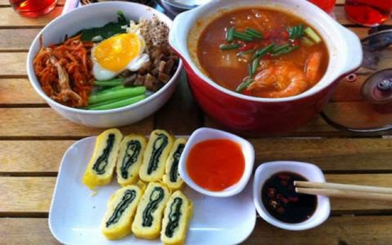 Các món ăn mang hương vị Hàn Quốc