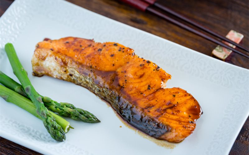 Salmon dish makes many diners fall in love