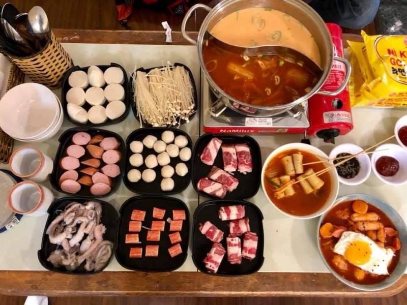 Quán ăn Hàn Quốc – Sam