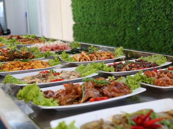 Top 4 quán ăn uống theo phong cách buffet tại Quy Nhơn,Bình Định.