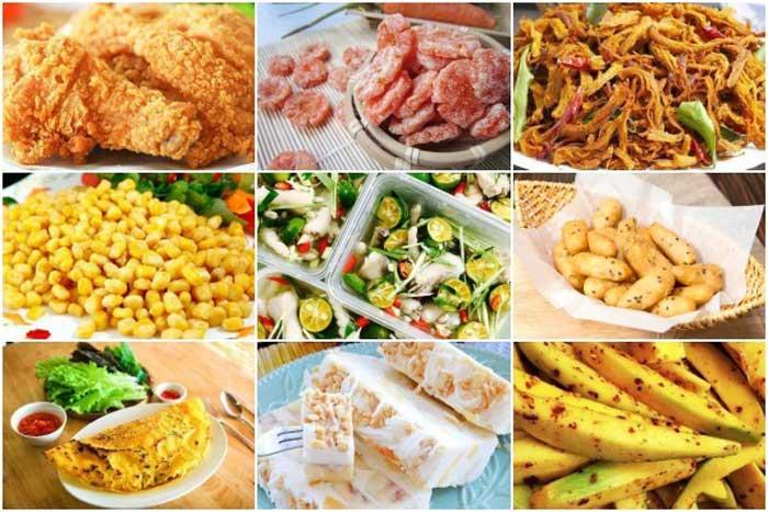 Top 7 Quán ăn vặt ngon nhất Cà Mau