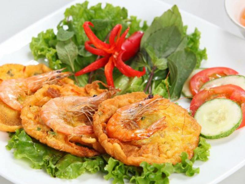 Image result for bánh tôm hồ tây