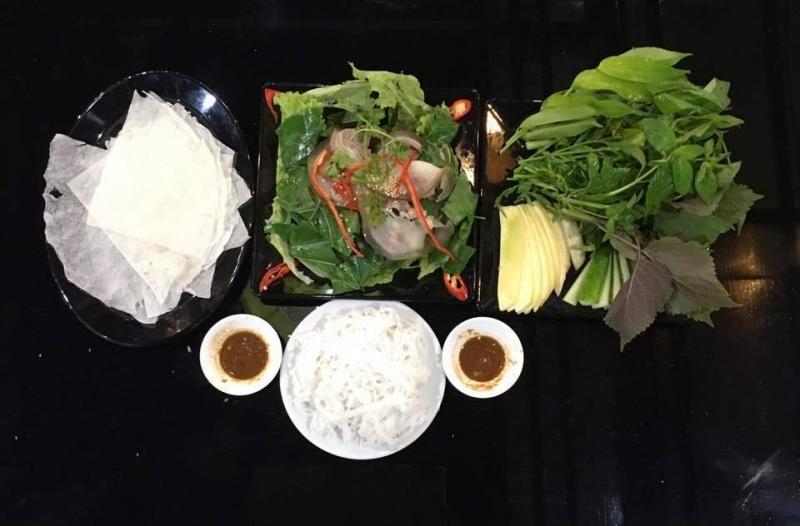 Menu đồ ăn tại quán Bia Đêm rất đa dạng và phong phú với nhiều món ngon