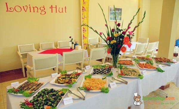 Quán buffet chay Loving Hut ngon - bổ - rẻ