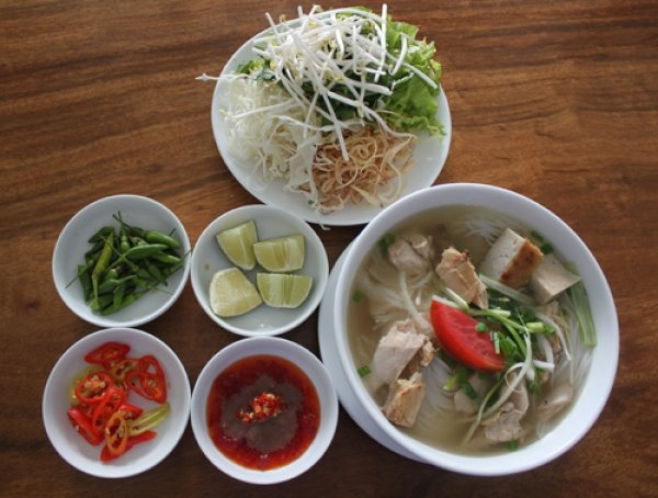 Ninh Hoa Leaf Fish Vermicelli is one of the best restaurants in Thap Ba Street