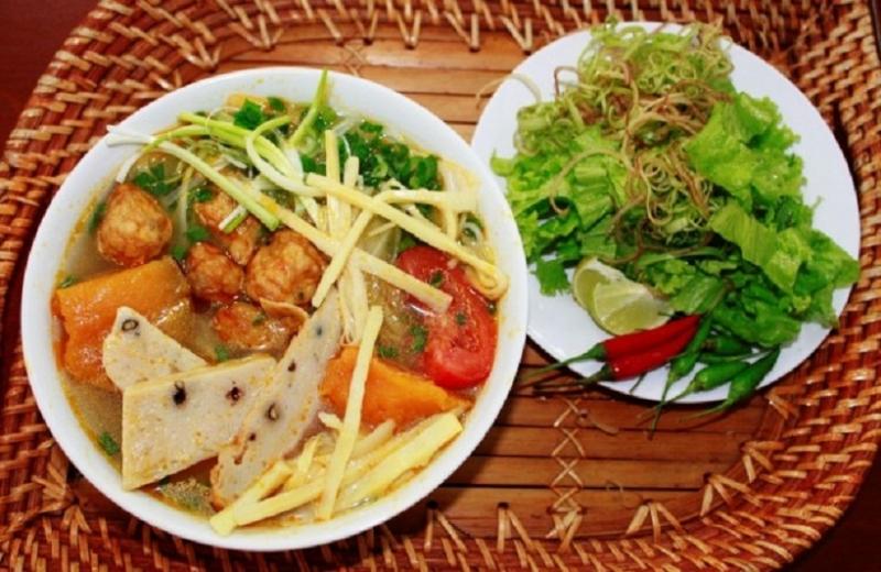 Bun cha is a famous dish in Danang