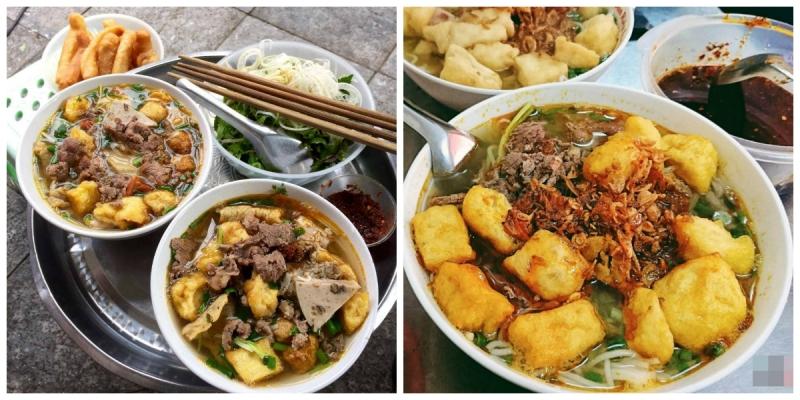 Top 10 quán bún riêu thập cẩm ngon nức tiếng Hà Nội