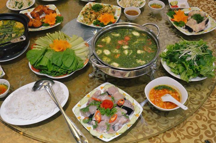 Quán cá Phiến Hoan Việt Trì