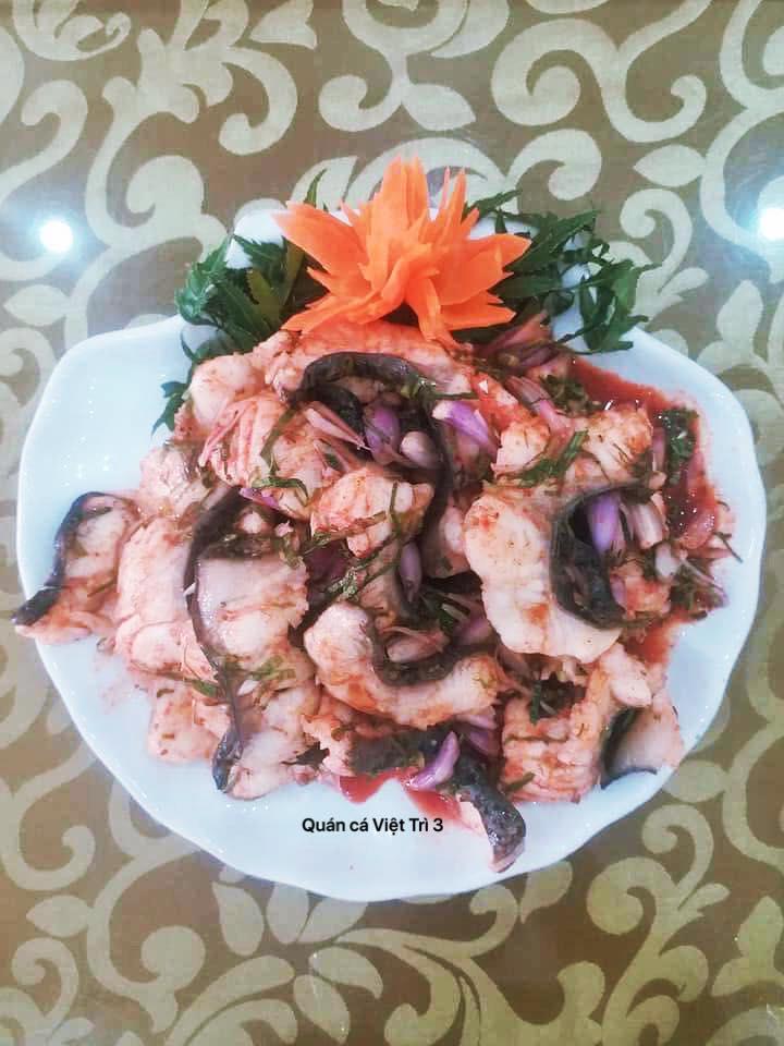 Nhà hàng Cá Lăng Việt Trì 3