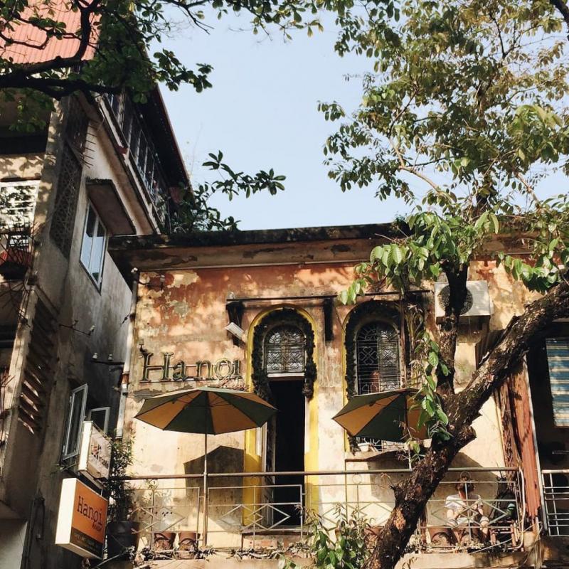 Quán cafe Hanoi House