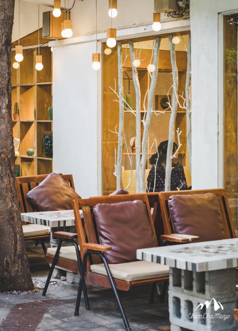 Khung cảnh quán cafe Chanchamayo