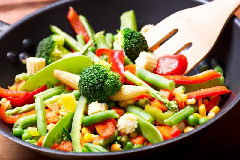 Món ăn của Rau Củ Nấm Vegan ngon miệng, rực rỡ sắc màu