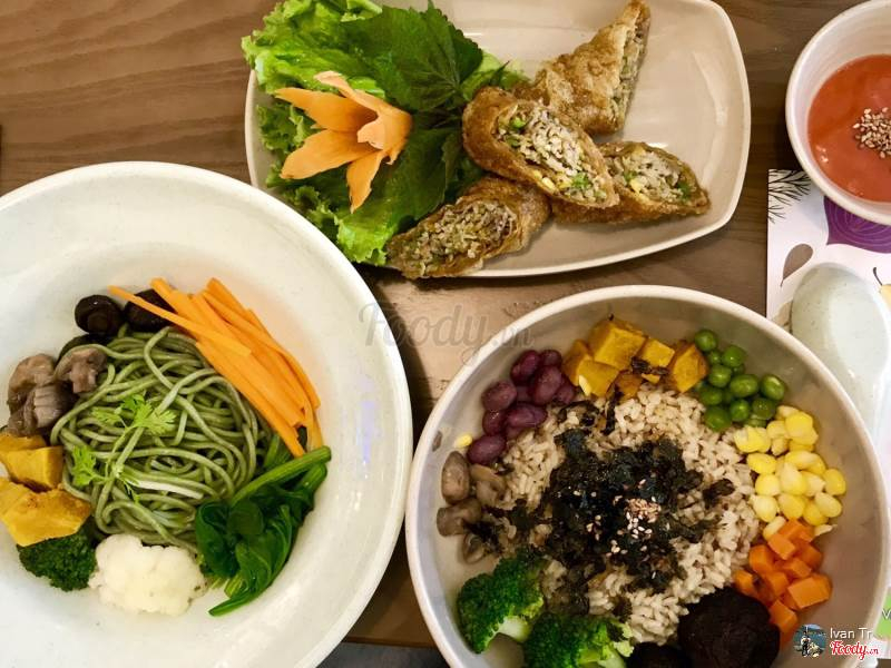 Các món ăn thanh đạm, bắt mắt, bổ dưỡng của Rau Củ Nấm Vegan