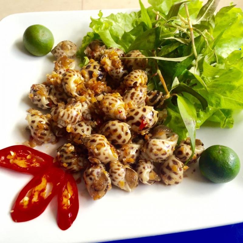 Các món ăn tại quán Chí Xì Gòn mang đậm những nét ẩm thực Sài Gòn