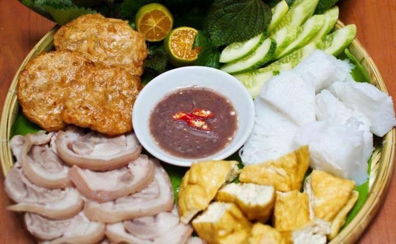 Quán Cô Hòa - Bún Đậu Mắm Tôm Hà Nội - Ung Văn Khiêm