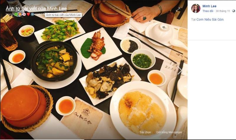 Saigon rice pot restaurant