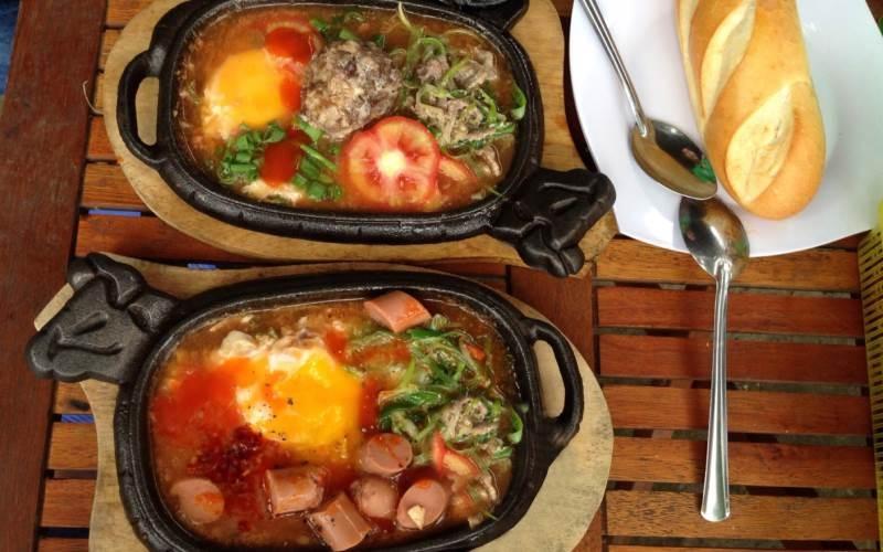 Mặc dù có giá bình dân nhưng chất lượng món ăn tại quán Con Bò Cười rất tốt