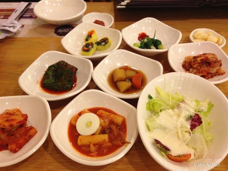 Các món ăn ở Dea Jang Geum