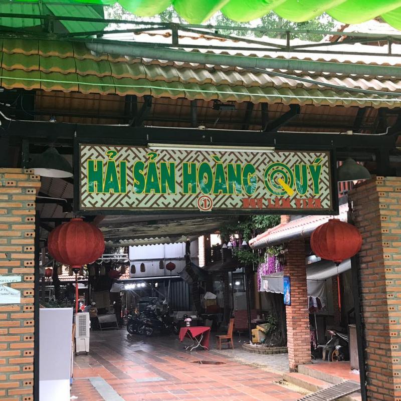 Quán Hoàng Quý là một trong những quán hải sản ngon và nổi tiếng nhất ở Biên Hòa