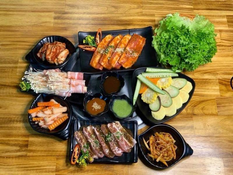 Sushi thơm ngon, hấp dẫn tại quán
